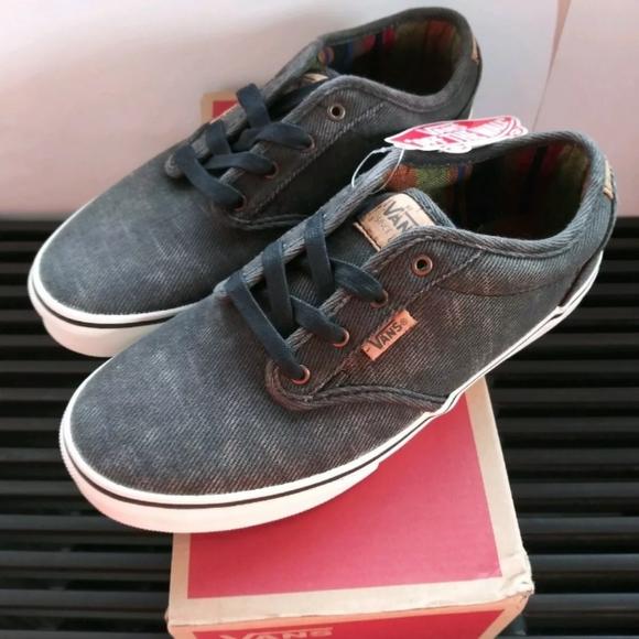 Vans Atwood deluxe Black gray Low Cut Sneaker 6